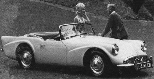 1962 Daimler sp 250 dart
