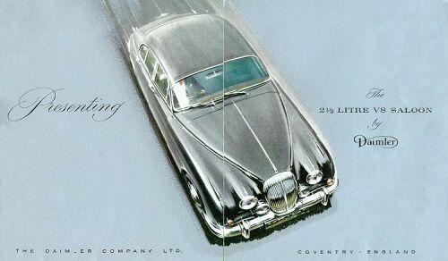1962 Daimler v8