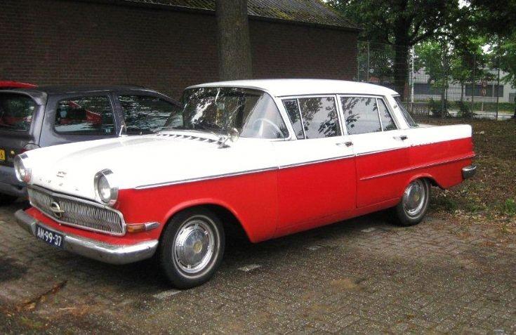 1962 Opel Kapitän Hydramatic