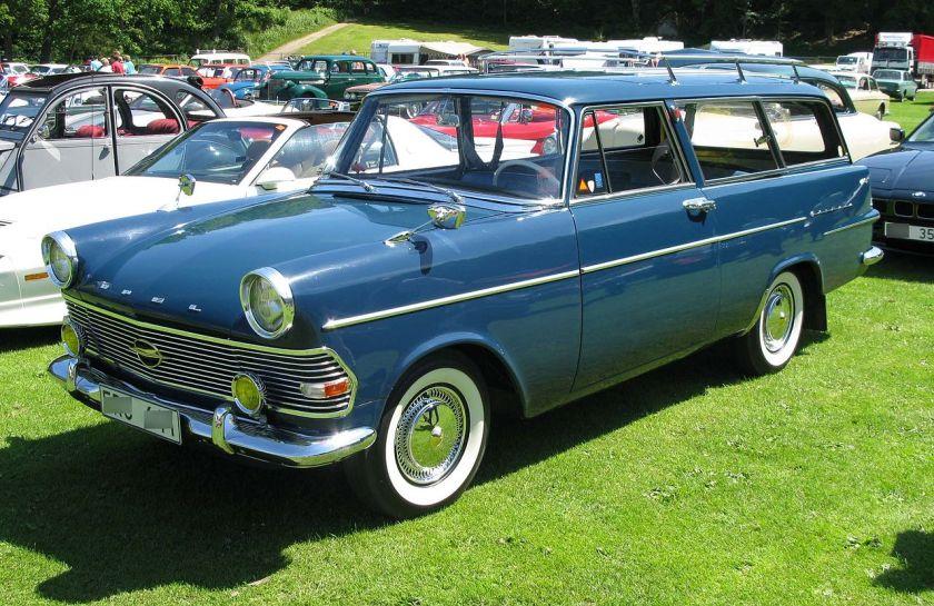 1962 Opel Rekord P2 Caravan