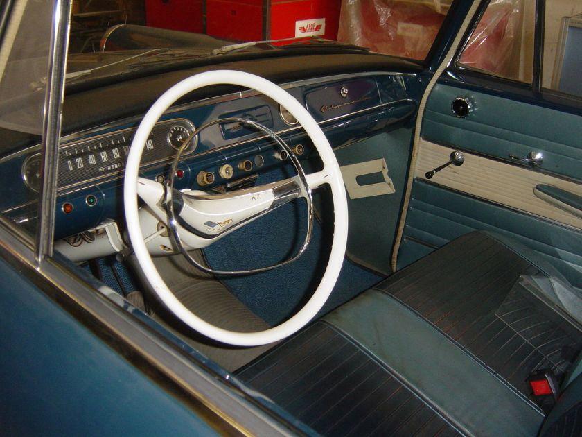 1962 Opel Rekord P2(cockpit)