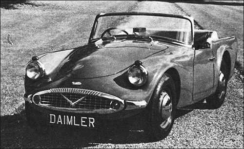 1963 Daimler sp250