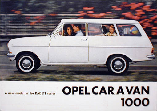1963 Opel Caravan 1000 Ad