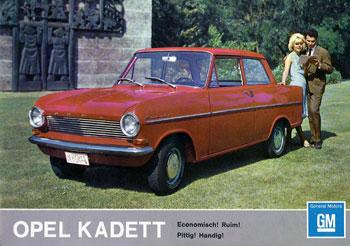 1963 opel kadet a-jr