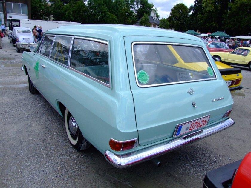 1963 Opel Rekord A Caravan 2