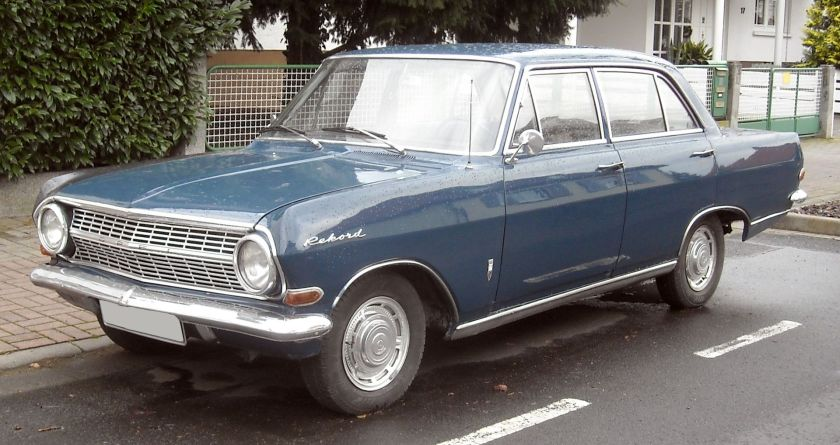 1963 Opel Rekord A front