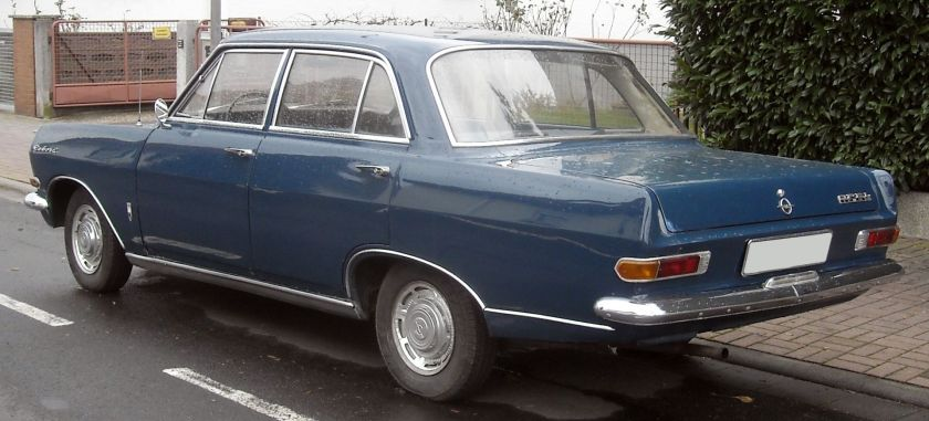 1963 Opel Rekord A rear
