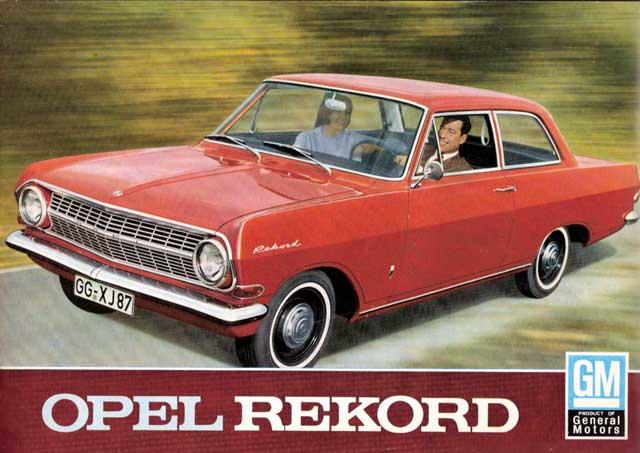 1963 opel rekord a=ac