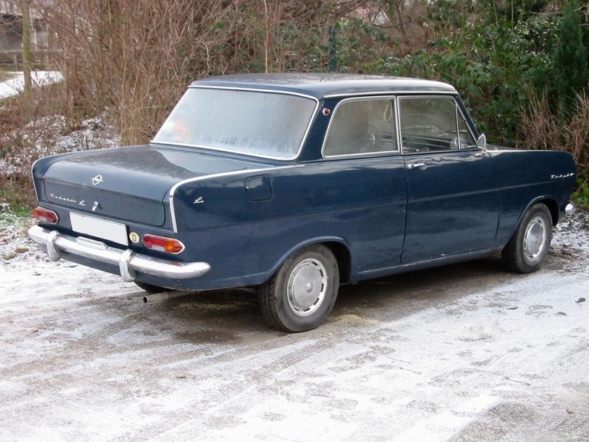 1964-65 Opel kadett a h rear