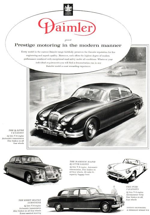 1964 Daimler 25 litre v8 saloon