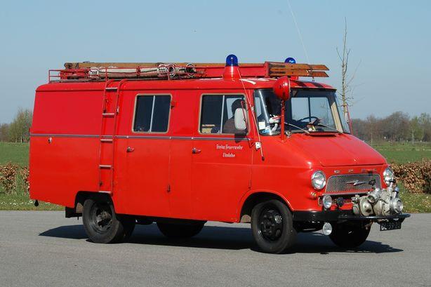 1964 Opel Blitz Brandweer