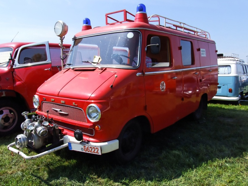 1964 Opel Blitz Feuerwehr