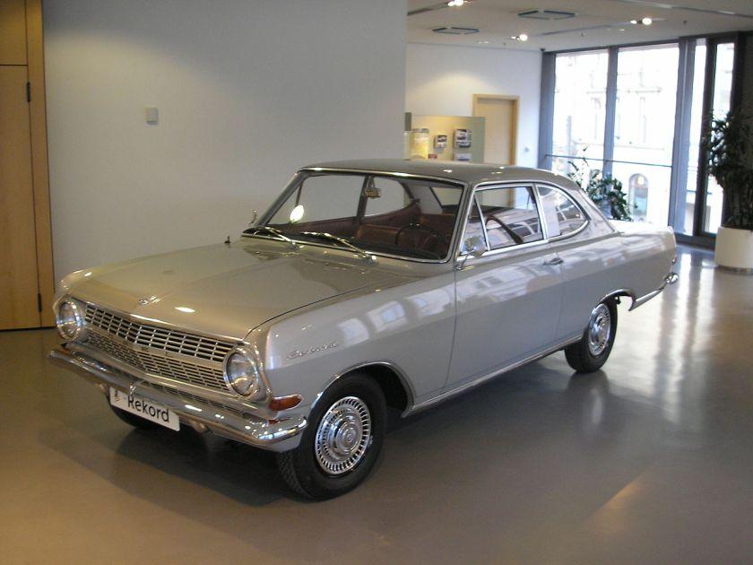1964 Opel Rekord A6 f