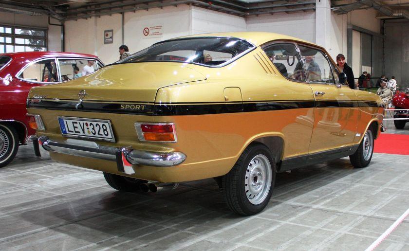 1965-70 Opel Rallye Kadett B Gills-coupé (Kiemencoupé)