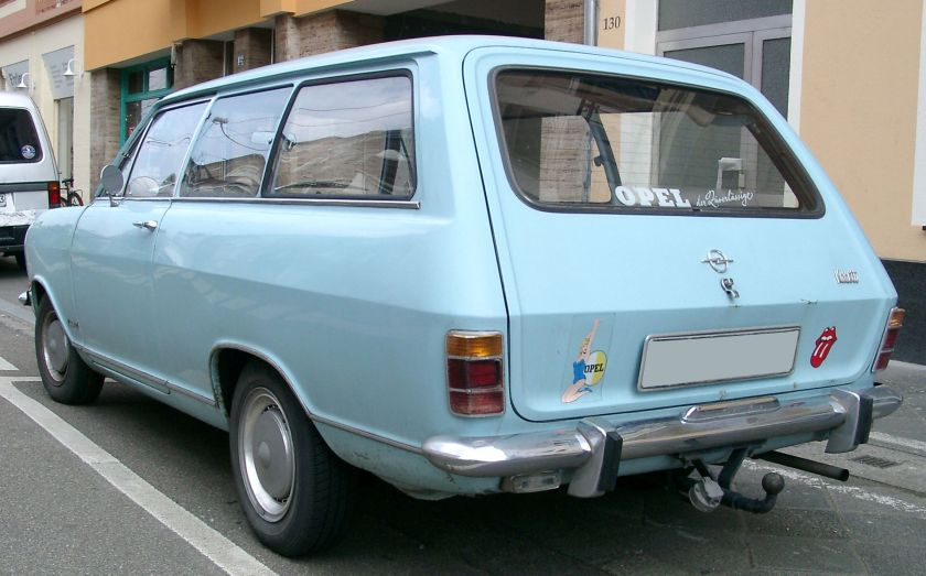 1965-73 Kadett B Kombi rear
