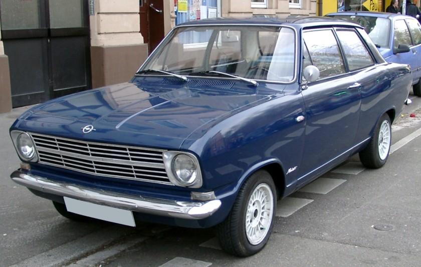 1965-73 Opel Kadett B 2-door Limousine