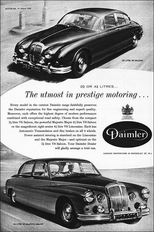 1965 Daimler 2,5 litre