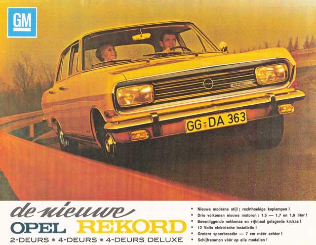 1965 opel rekord b