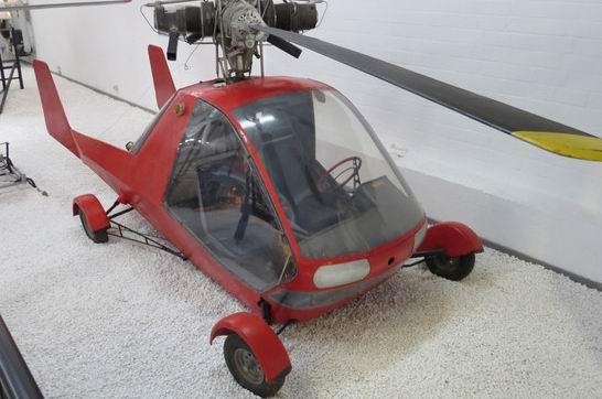 1965 Wagner Rotocar Aerocar a