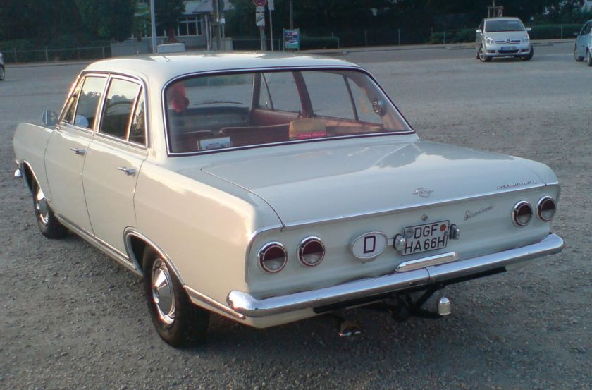 1965–66 Opel REKORD-B-1