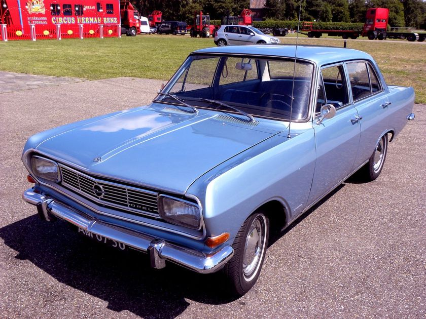 1965–66 Opel Rekord-B-1900