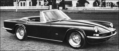 1966 AC 427 convertible