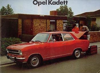 1966 opel kadet b-2door