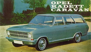 1966 opel kadet b caravan 5 door