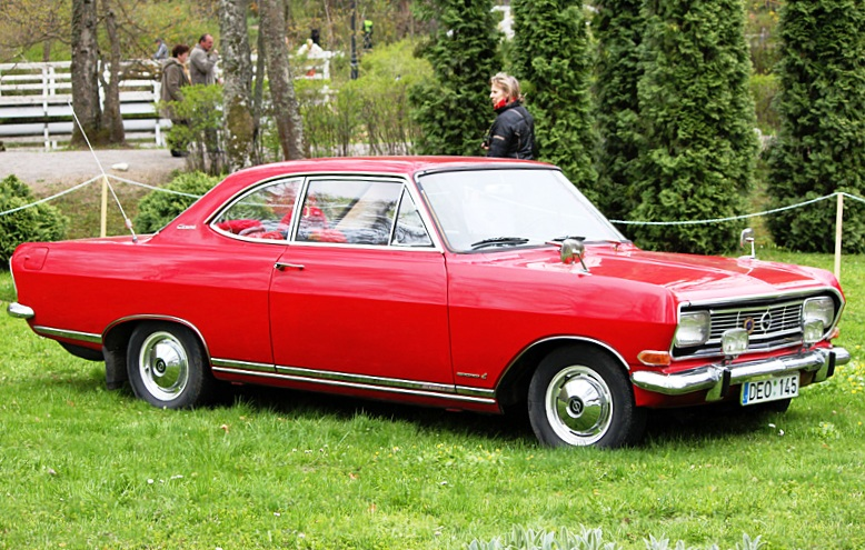 1966 Opel Record B Coupé