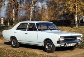 1966 Opel Rekord 4 Door
