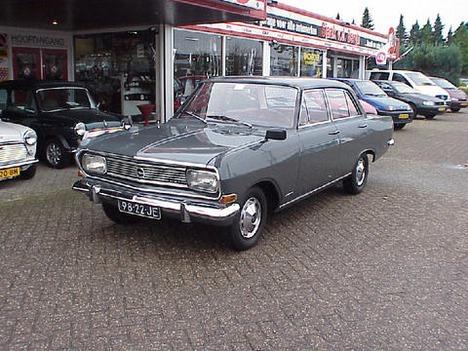 1966 Opel Rekord 98-22-JE