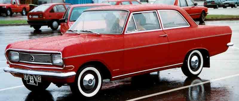 1966 Opel Rekord B 2-Door Sedan