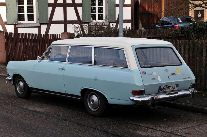 1966 Opel Rekord B Car A Van