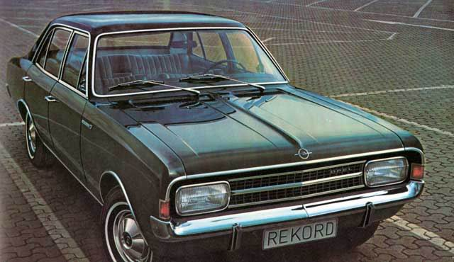 1966 Opel Rekord C