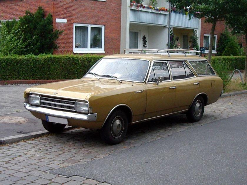 1966 Opel Rekord C2 Kombi 5T