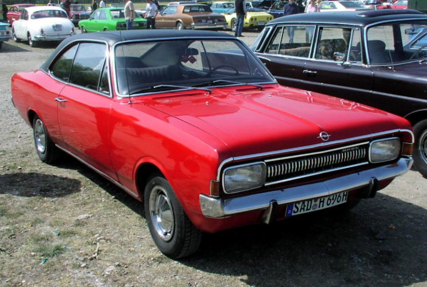 1967-71 MHV Opel Commodore A Coupé 01