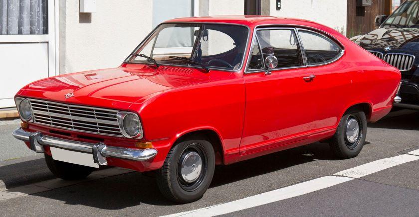 1967-73 Opel Kadett B Coupé F