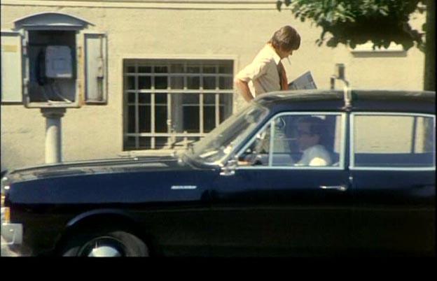 1967 Opel Rekord Taxi