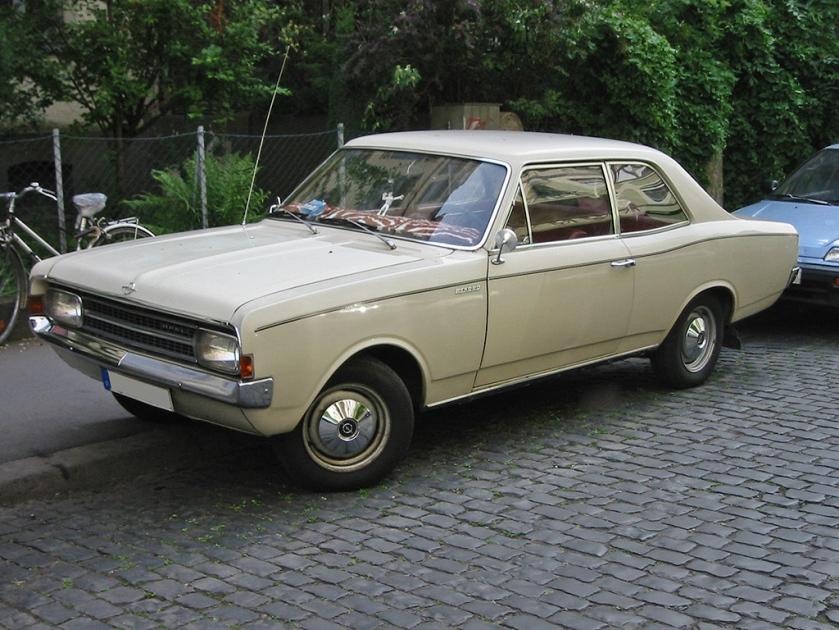 1967–71 Opel Rekord C