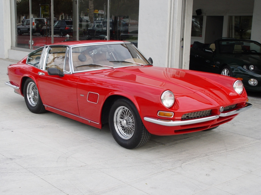 1968 AC Frua coupé, quarter 428