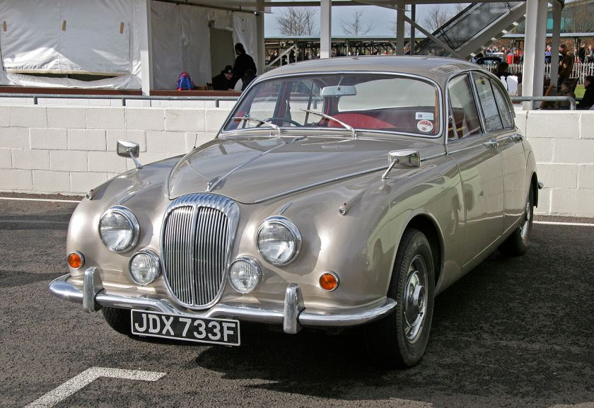 1968 Daimler V8-250, hybrid Small Daimler V8 in a re-badged Jaguar car the most popular Daimler