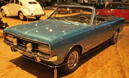 1968 Opel Commodore GS Cabrio von Deutsch