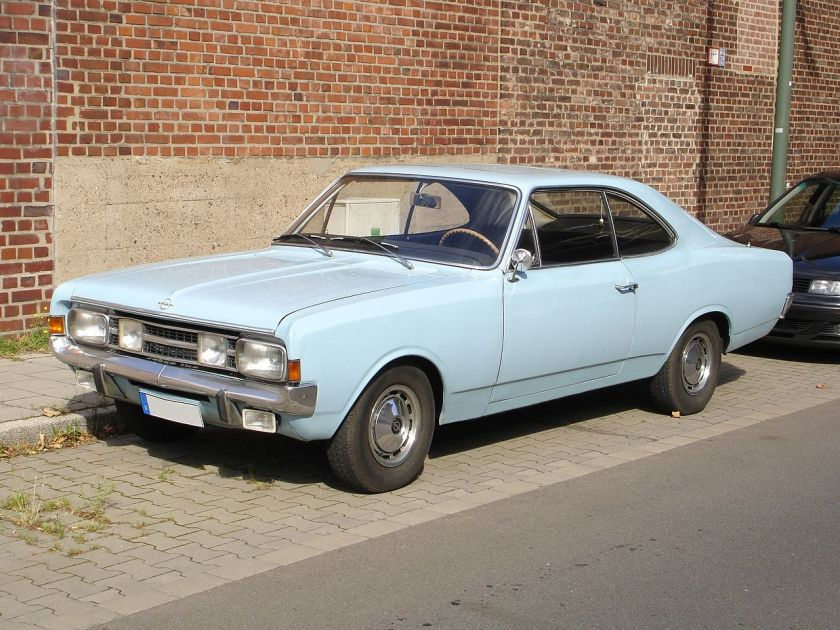 1968 Opel Rekord-C-Coupe