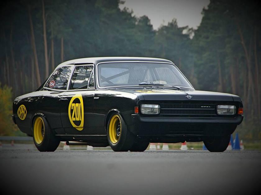 1968 Opel Rekord Schwarze Witwe