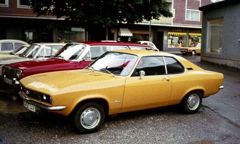 1970-75 Opel Manta A Garmisch
