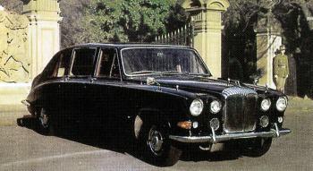 1970 Daimler limousine