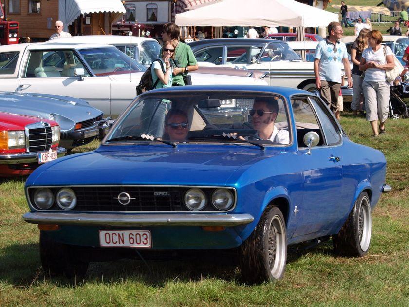 1970 Opel Manta belgian