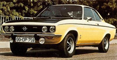 1970 Opel Manta SR