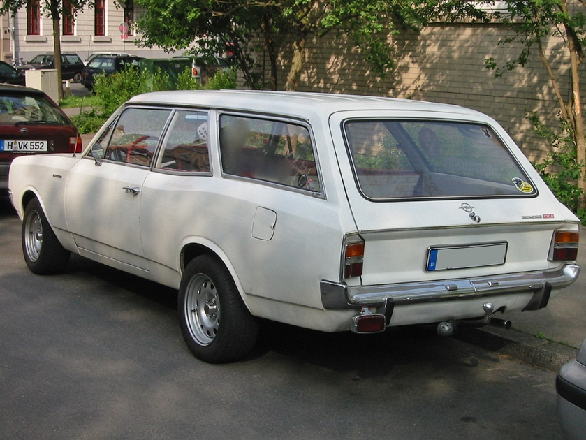 1970 Opel Rekord C 3-door Kombi (estate-station wagon)