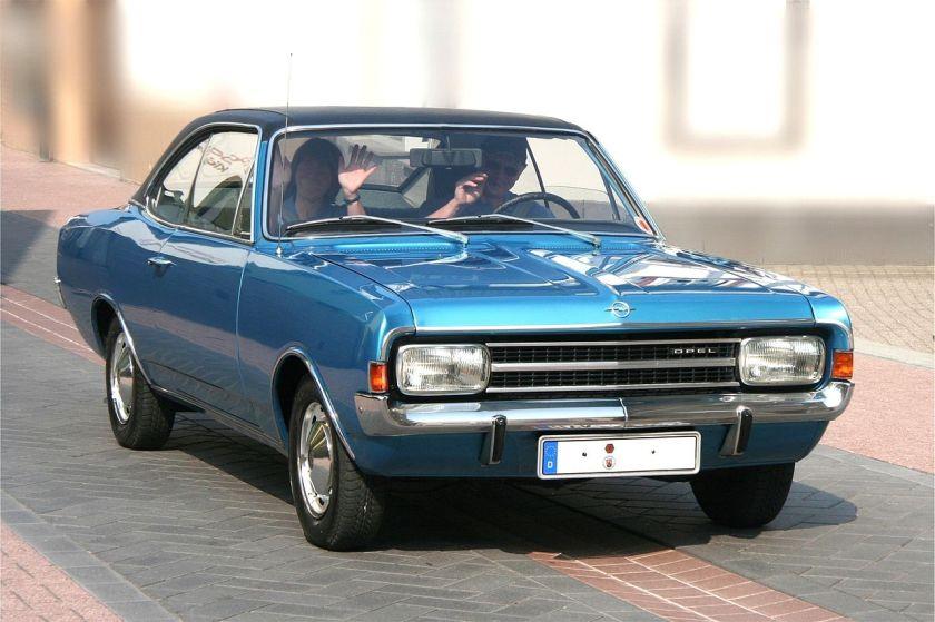 1971 Opel Rekord 1900 L 2